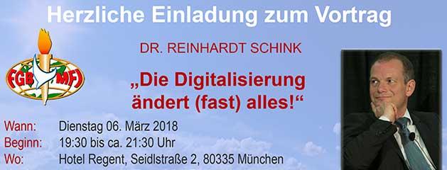 Die Digitalisierung ändert (fast) alles!