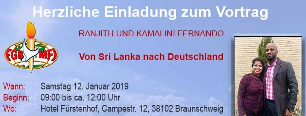 """""""Von Sri Lanka nach Deutschland"""""""