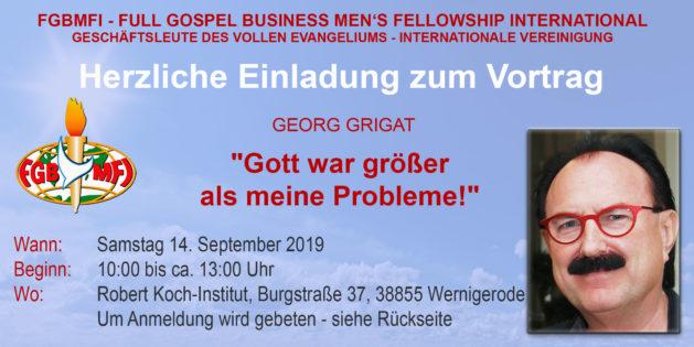 """""""Gott war größer als meine Probleme!"""""""